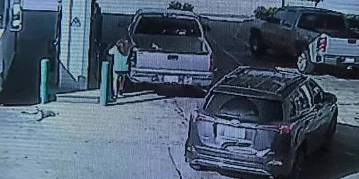 Suspect steals car with baby inside