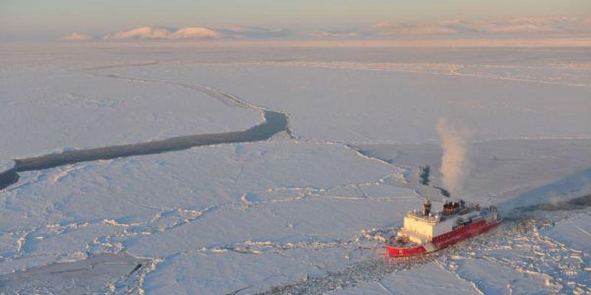 Coast Guard icebreaker arrives in the islands