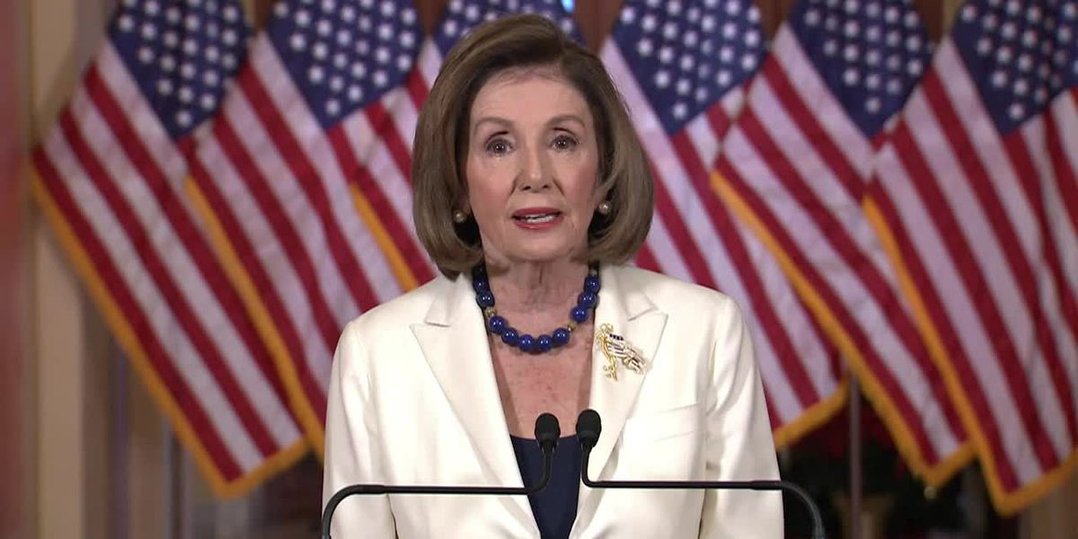 Pelosi asks House to proceed with articles of impeachment against Trump