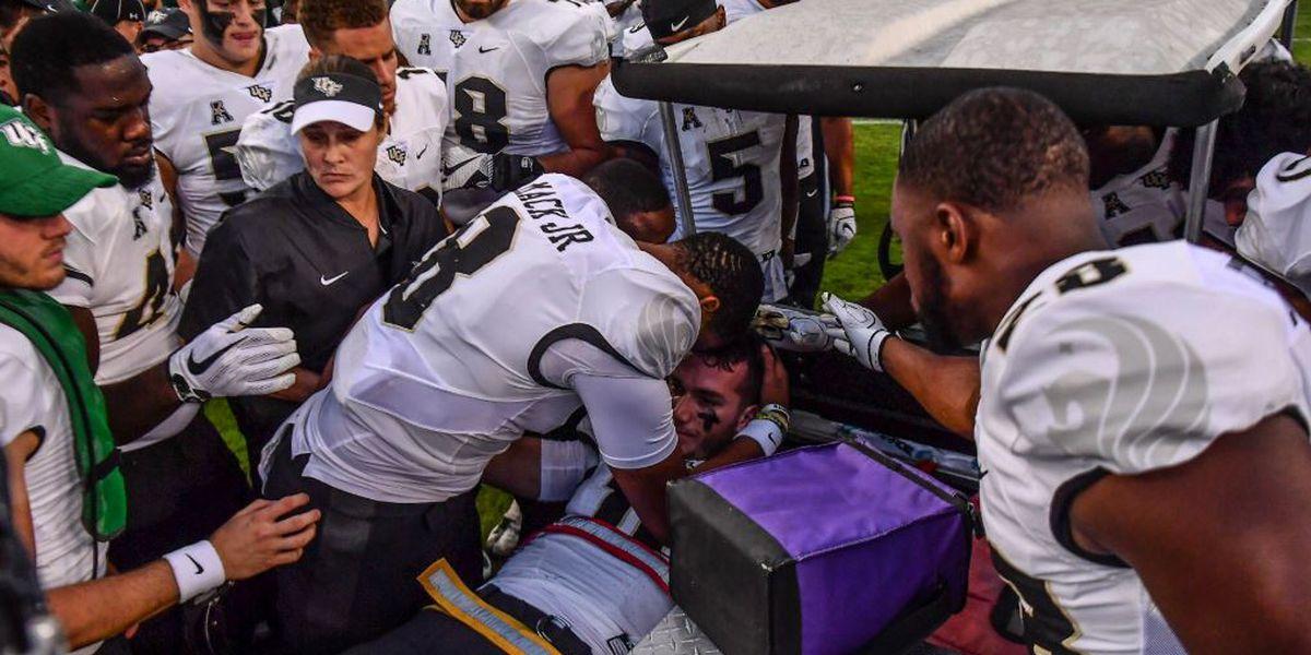 Social media reacts to Milton injury