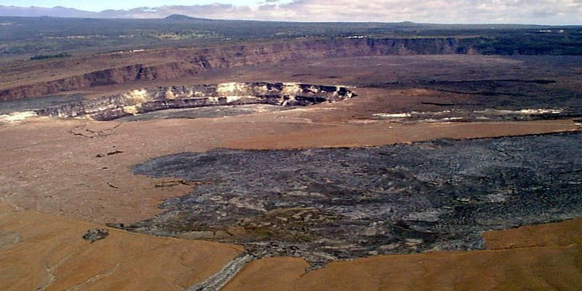 Woman dies after apparent fall from Kilauea caldera rim