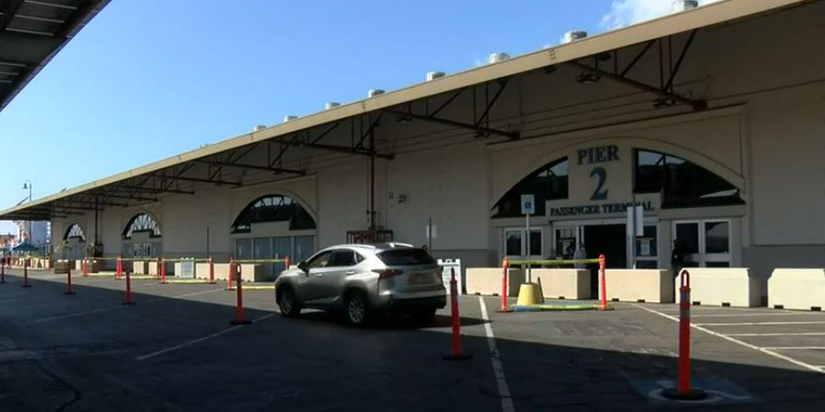 Hawaii Pacific Health says so far, over 8,600 people vaccinated at Pier 2