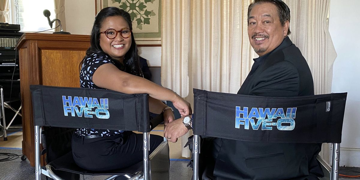 Local Hawaii Five-0 star shares a special scene with her real-life dad