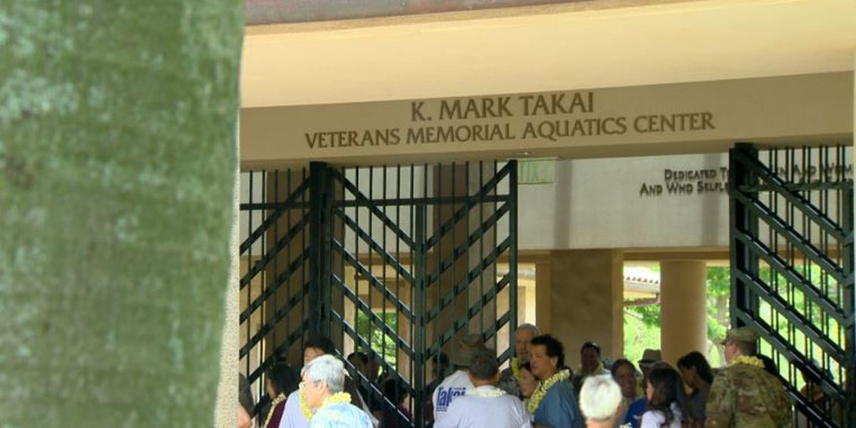 Late U.S. Rep. Takai honored with renaming of aquatic facility
