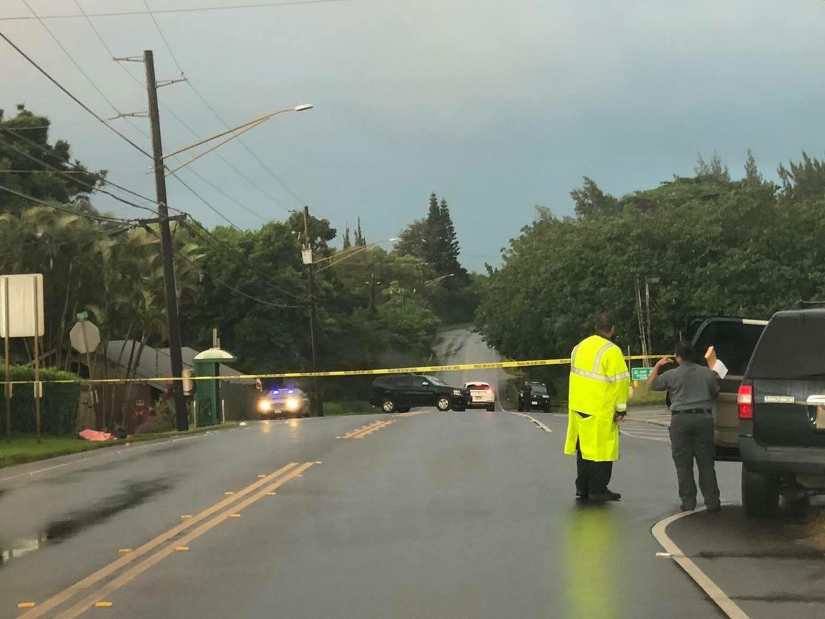 85-year-old man killed in pedestrian crash on Kauai