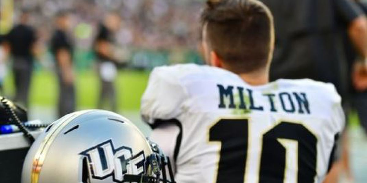 Milton's injury should not hurt UCF's chances at College Football Playoff