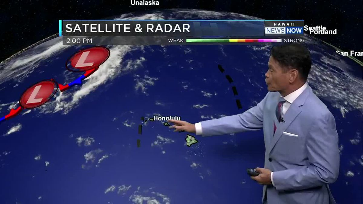 Higher chance of showers, muggy conditions continue
