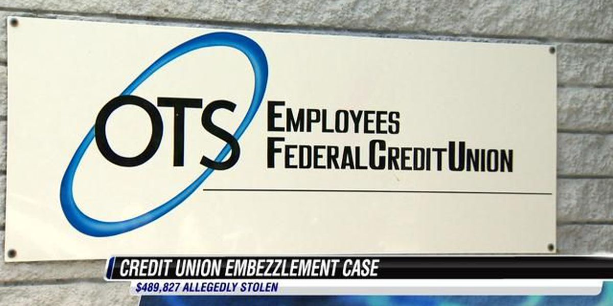 Former credit union employee sentenced in embezzlement case