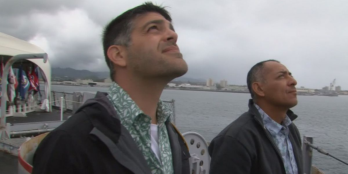 Host of 'Right This Minute' connects with father's past on board USS Missouri