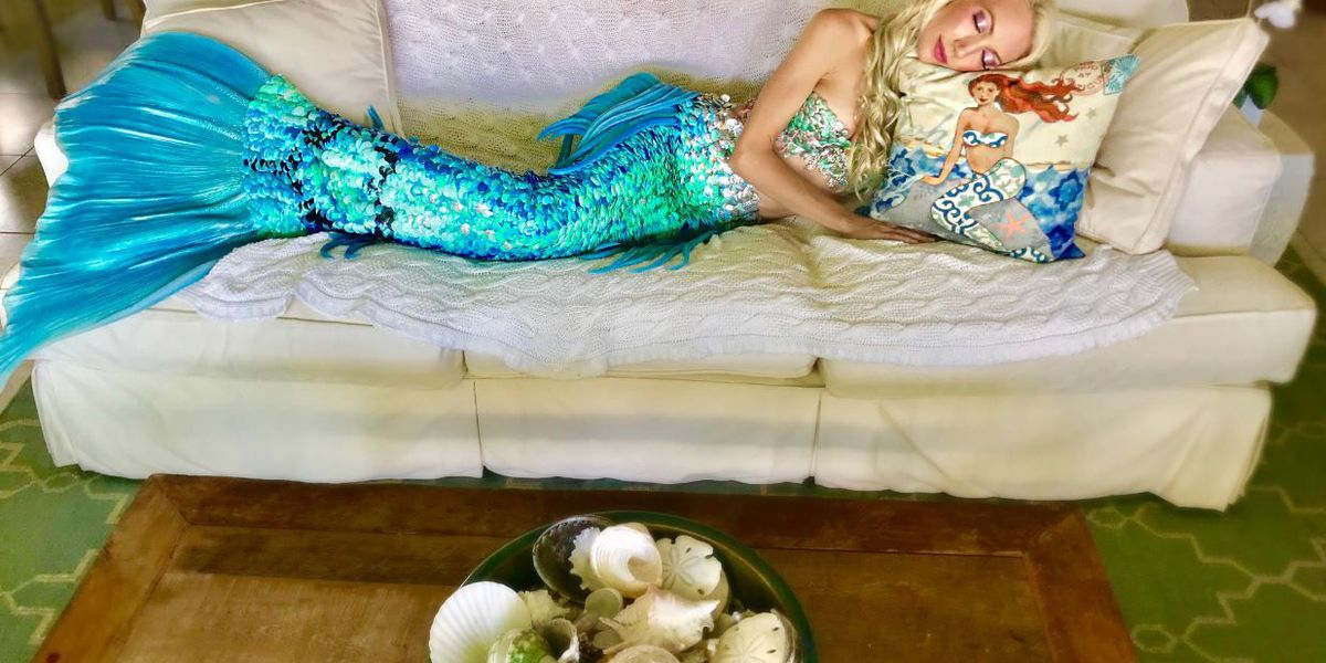 A popular mermaid performer is asking for help: Someone stole her $11K tail