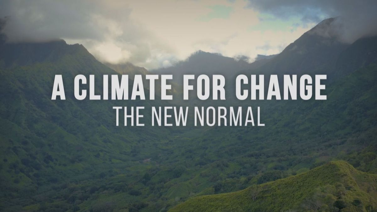 Hawaii News Now to unveil first of 3-part climate change series on Wednesday - Hawaii News Now