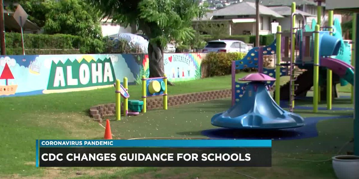 New CDC guidelines endorses Hawaii DOE's decision to keep students 3-feet apart