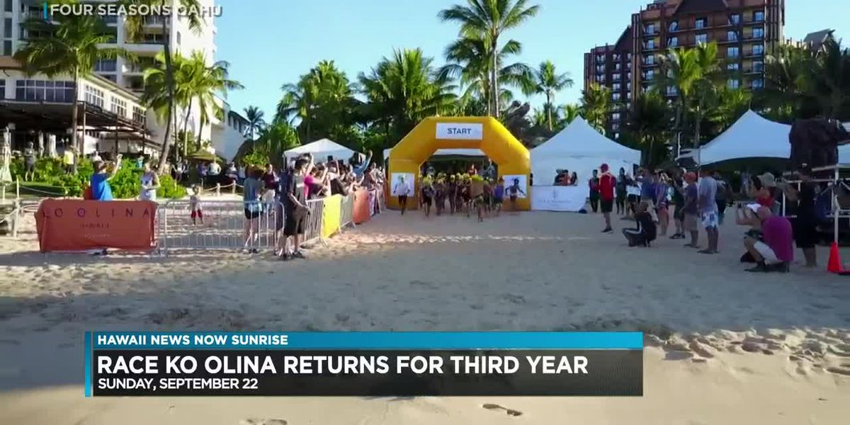 Race Ko Olina is taking place next weekend, a day of races and family events at Four Seasons Ko Olina Resort