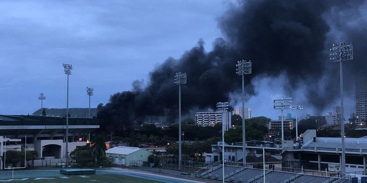Power restored to entire UH-Manoa campus after large transformer fire