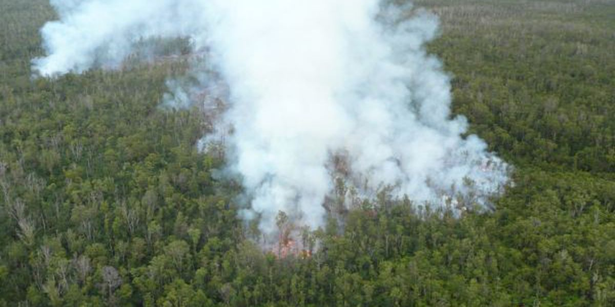 Puna lava flow advances another 400 yards, poses no immediate threat