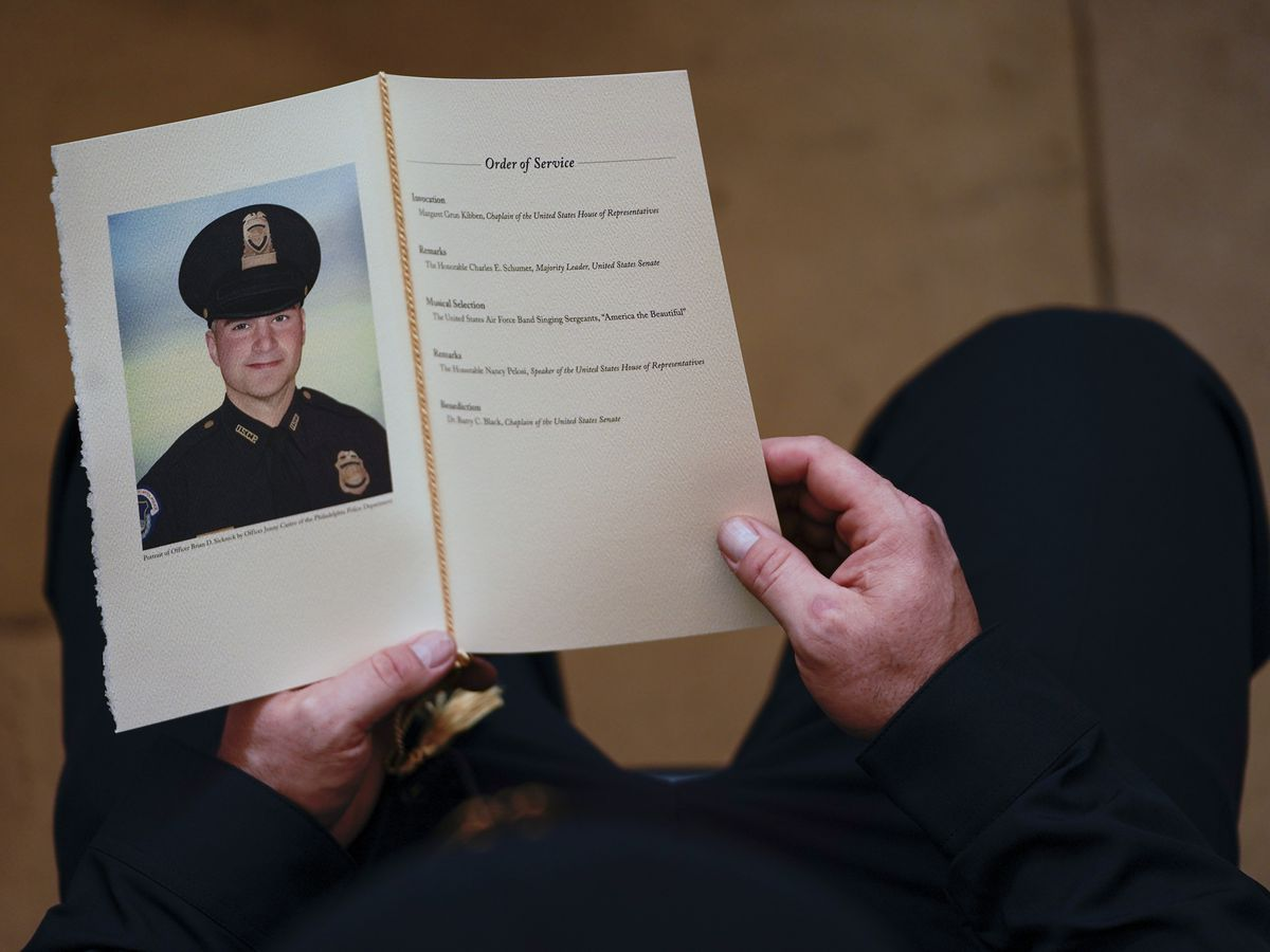 Medical examiner: Capitol officer Sicknick died of natural causes after riot