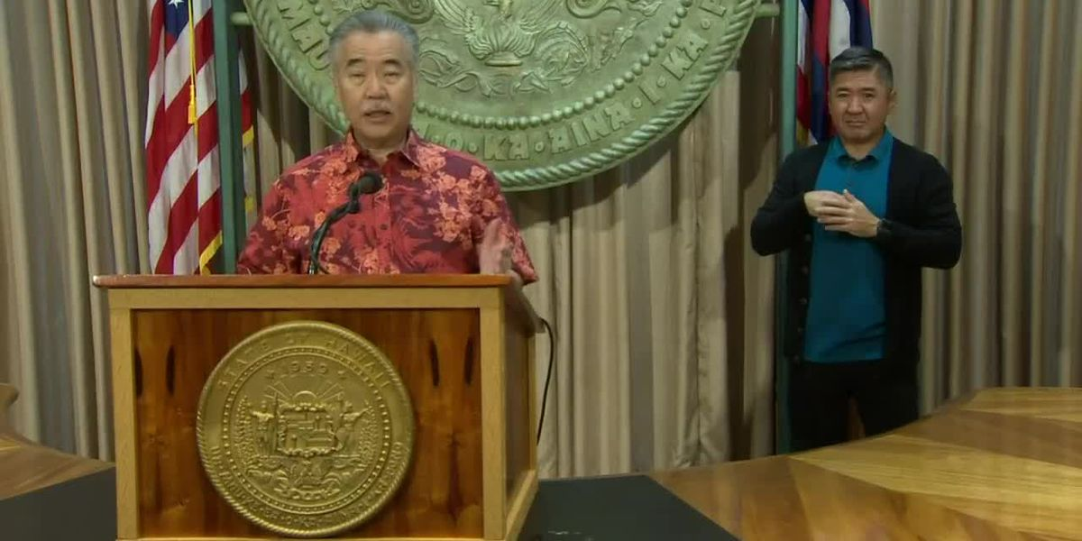 Ige delays plan to reopen tourism until Sept. 1 amid COVID-19 surge on the mainland