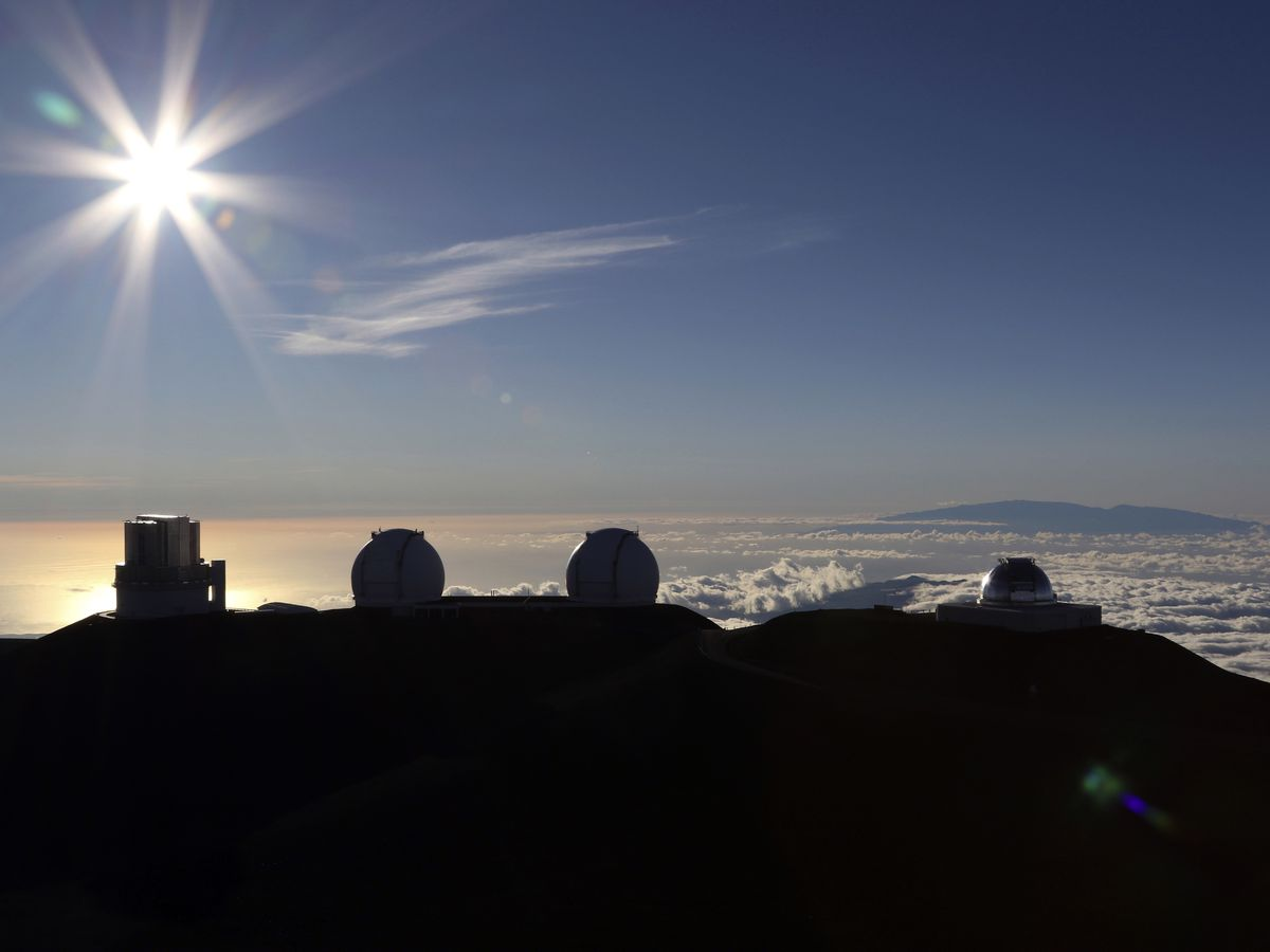 Decommissioning of 1 of 5 Mauna Kea telescopes on schedule
