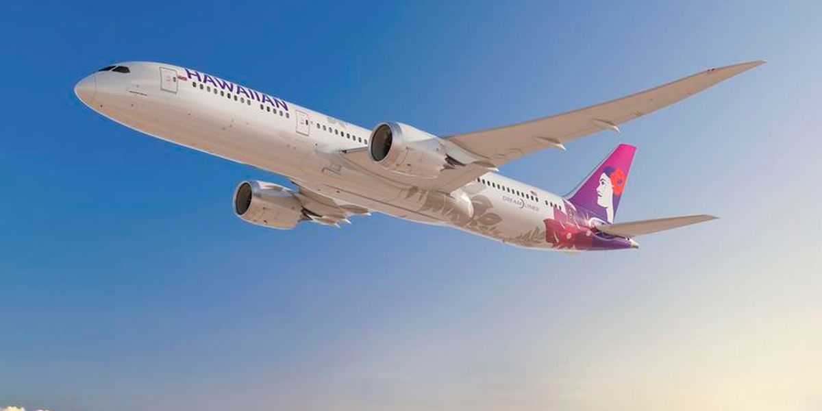 Hawaiian signs on to buy Boeing 787 Dreamliner aircraft