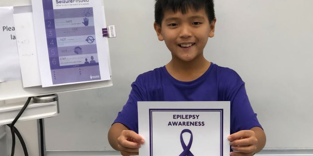 A 12-year-old's mission to help a friend with epilepsy turns into a push for a new law
