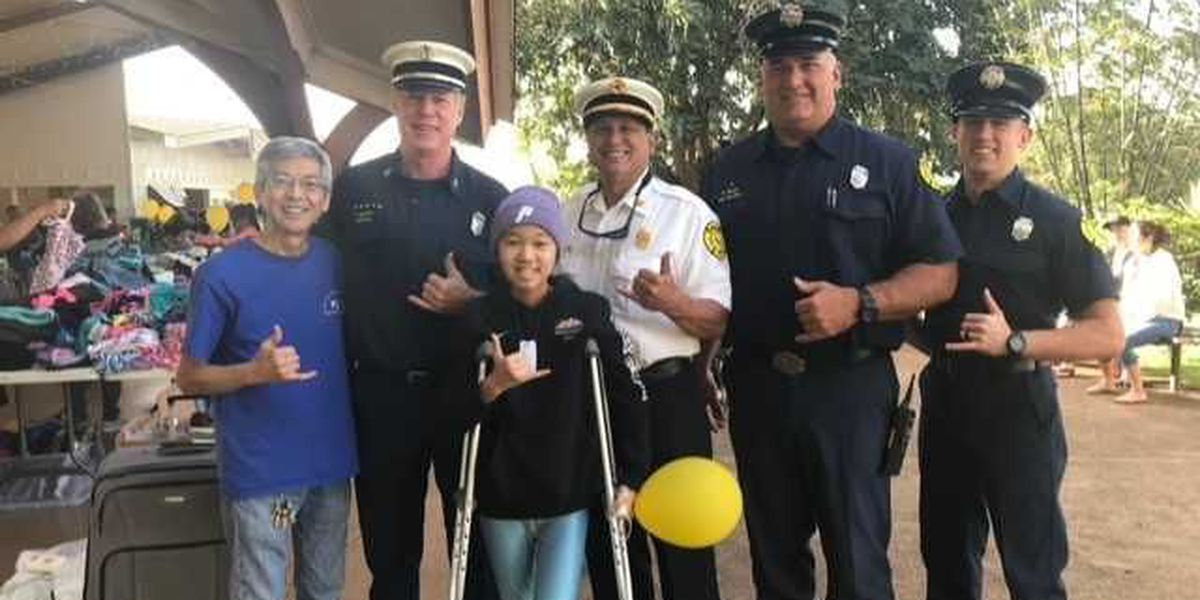 Fundraiser for Pearl City girl with cancer brings out city leaders, raises $10k