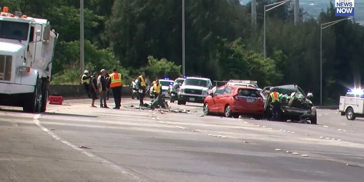 One dead in fatal crash that closed portion of H-2