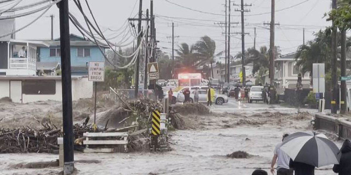 Citing recent severe weather, Honolulu Mayor Blangiardi urges action against climate change