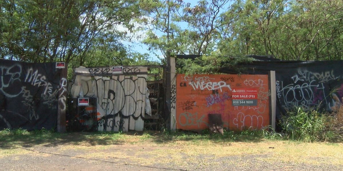 City hopes to buy neglected property near Pearl Harbor bike path and turn it into a park