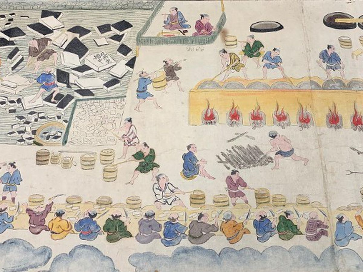 Rare Japanese scrolls over 200 years old now housed at UH Manoa's Hamilton Library