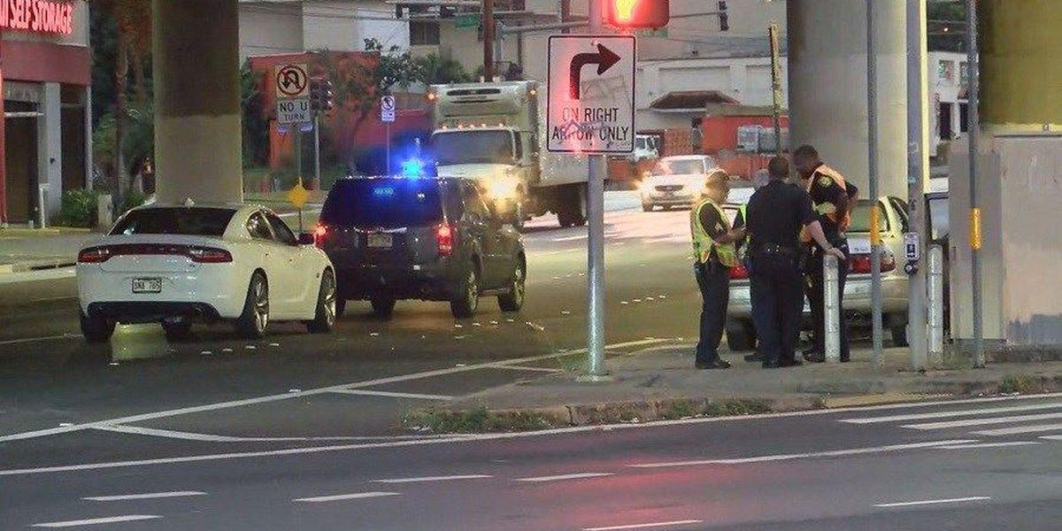 Police investigate fatal crash near Market City Shopping Center