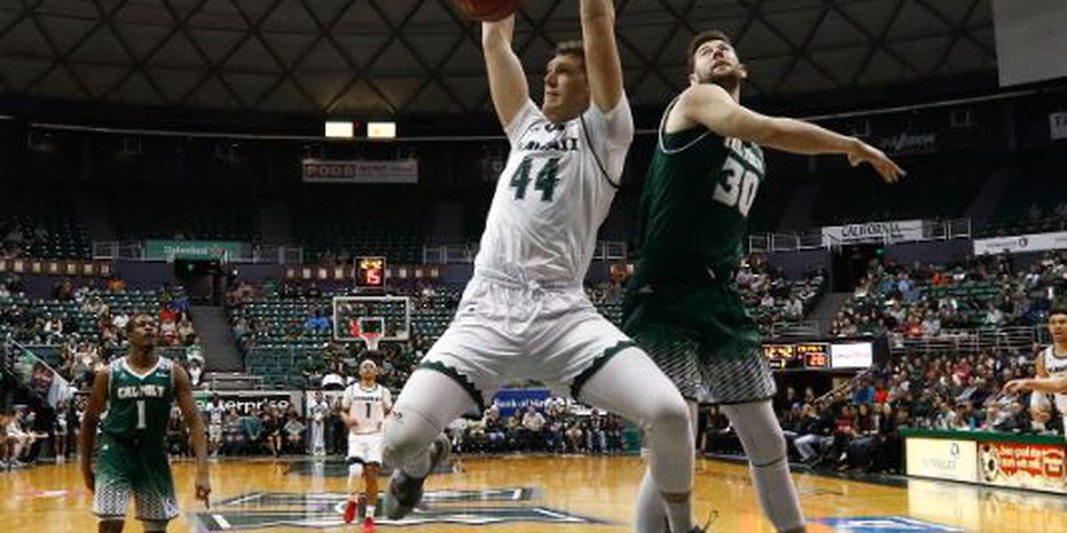 Warriors take care of Cal Poly, 75-54