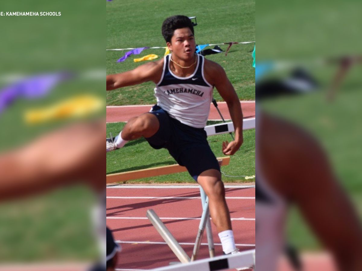 Kamehameha track-and-field athlete wins Gatorade award as top runner