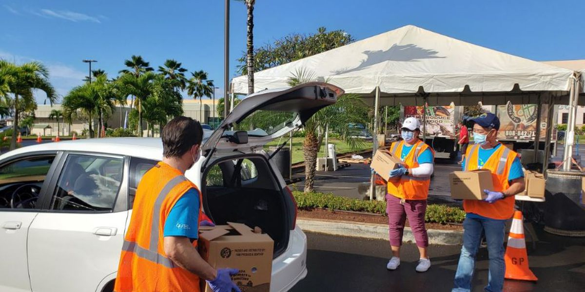 Kaiser Permanente holds another food distribution for struggling families