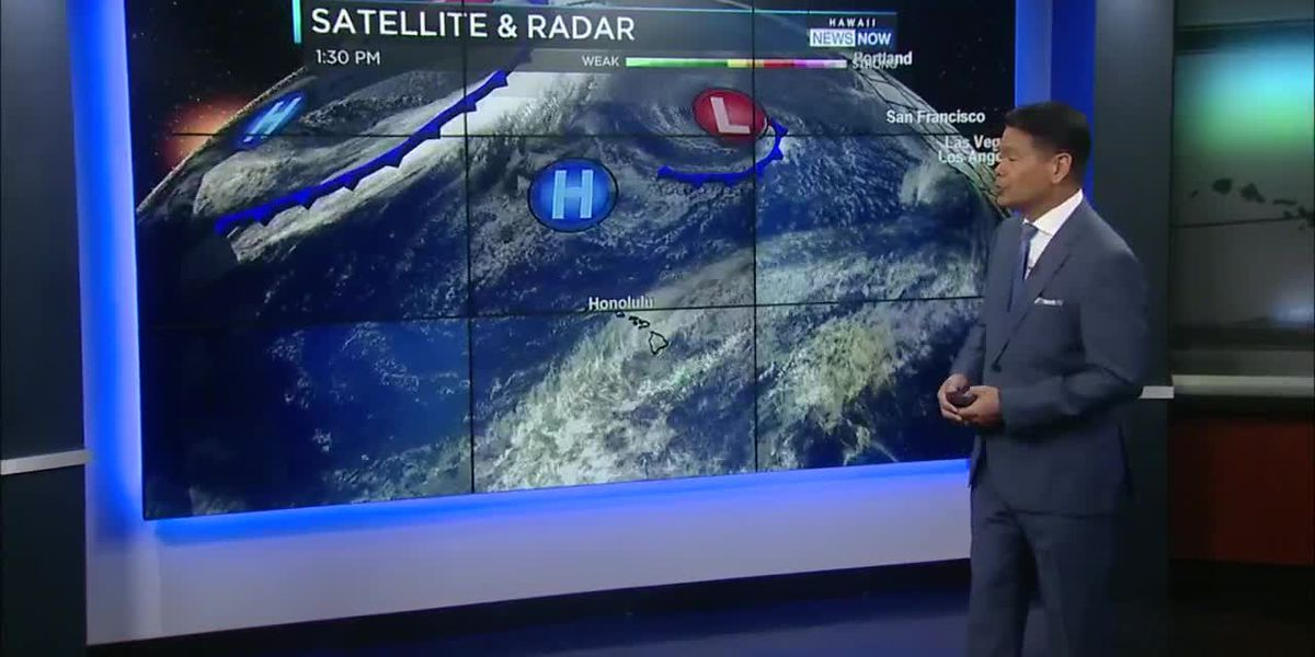 Forecast: Cool, breezy trades to bring more windward showers