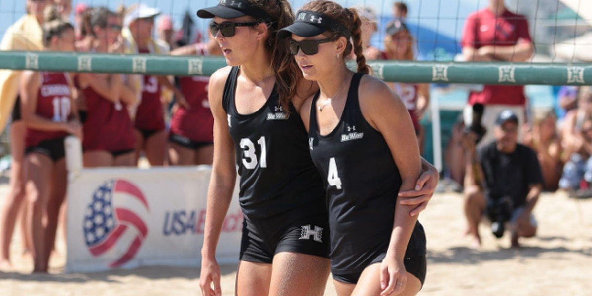 Hanneman and Scoles named Big West Pairs Team of the Week