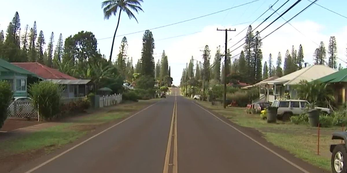 Stay-at-home order goes into effect for Lanai amid large COVID-19 outbreak