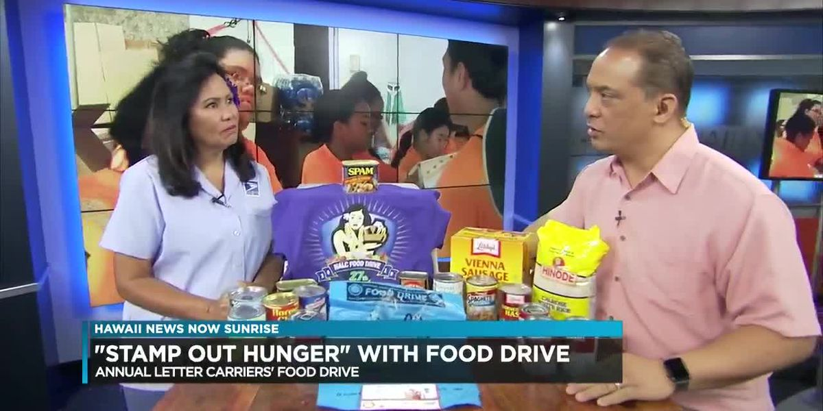 Stamp out Hunger has begun with USPS