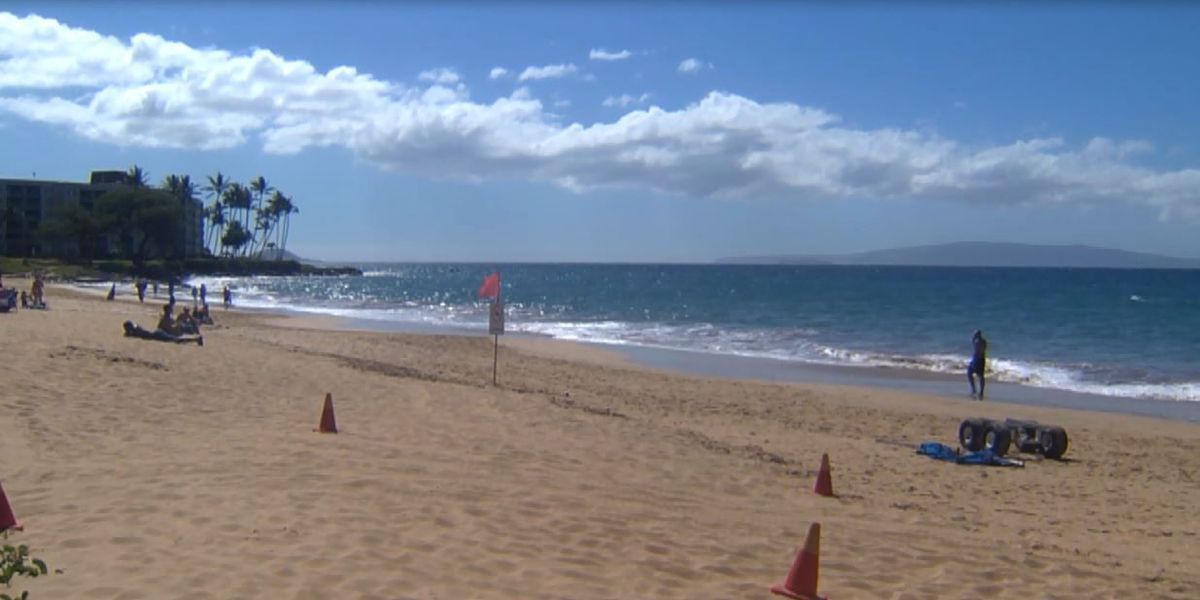 Two shark attacks in a month at Maui beach