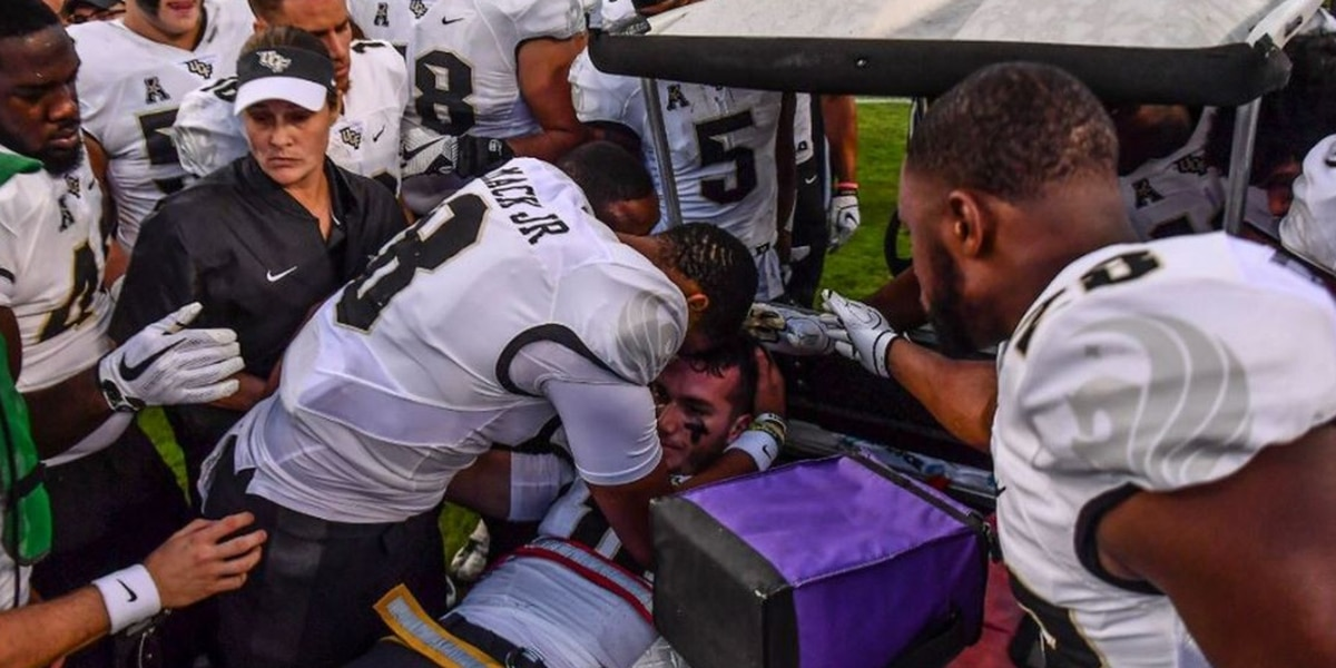 UCF quarterback Milton McKenzie has surgery to stabilize knee