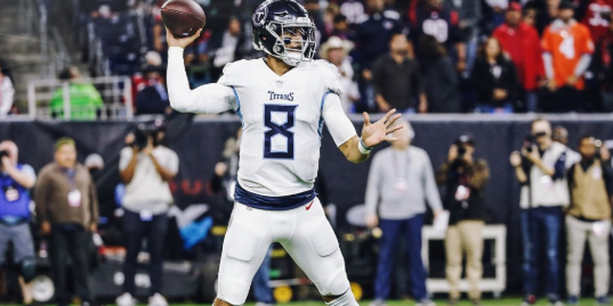 Mariota's near-perfect night not enough in 34-17 loss to Texans