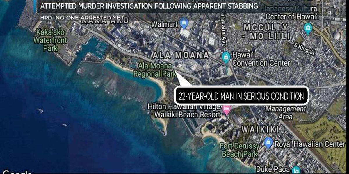 Attempted Murder Investigation Underway After Apparent Stabbing