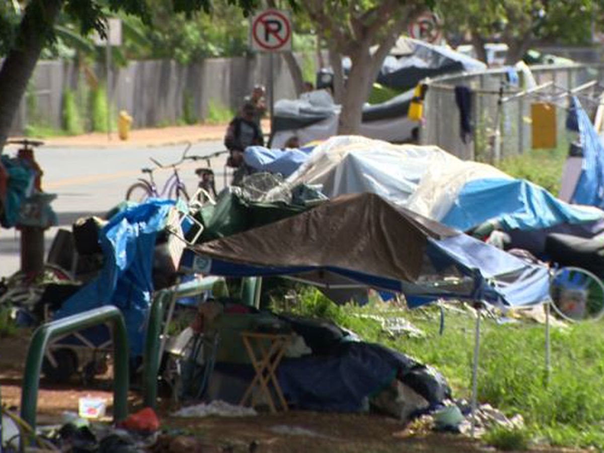 46 in every 10,000 Hawaii residents are homeless. That's the highest rate in the nation, a new report says