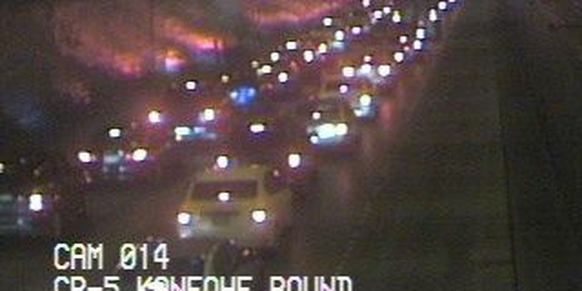 H-3 freeway reopened after motorcycle accident