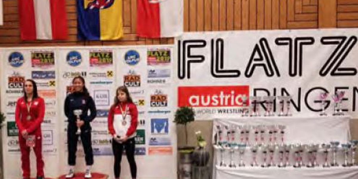 Hawaii's Ikei wins wrestling gold medal in Austria