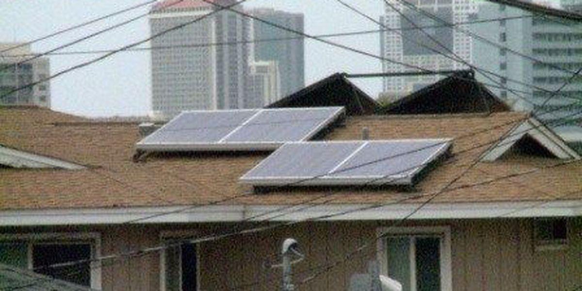 Oahu solar permits drop by half in July