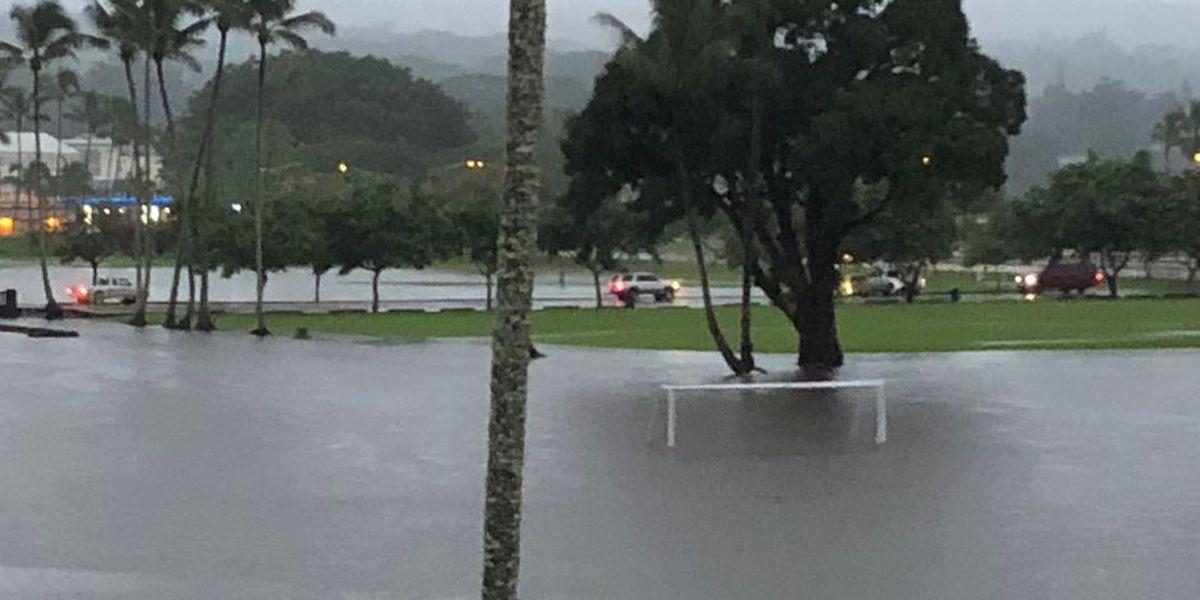 Flash flood watch issued for Maui, Big Island