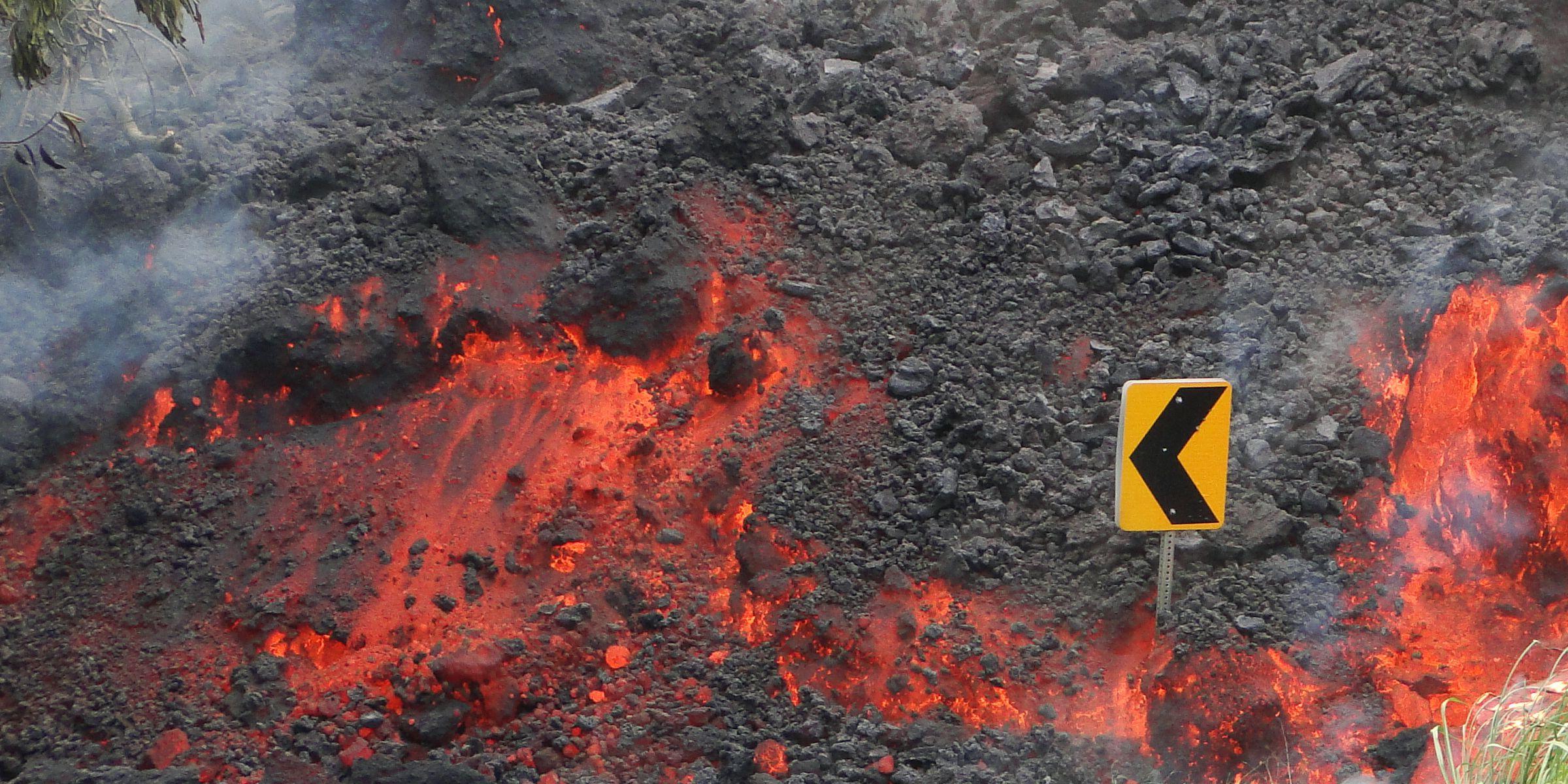 Threat level at Kilauea lowered again, signaling the end of an eruptive era