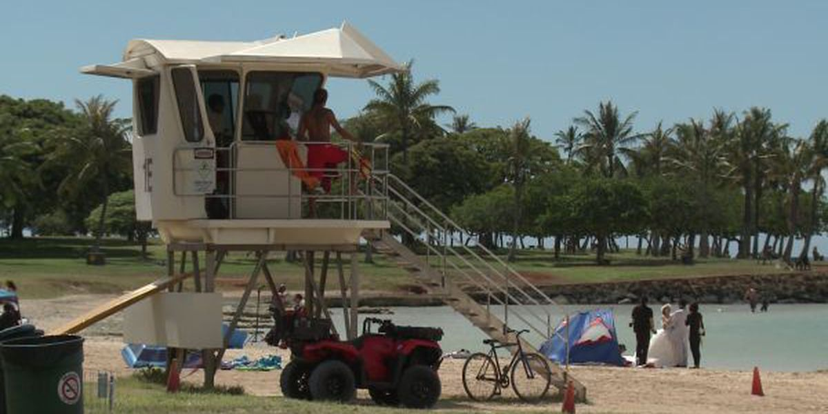 Elderly man dies after being pulled from waters off Ala Moana Beach