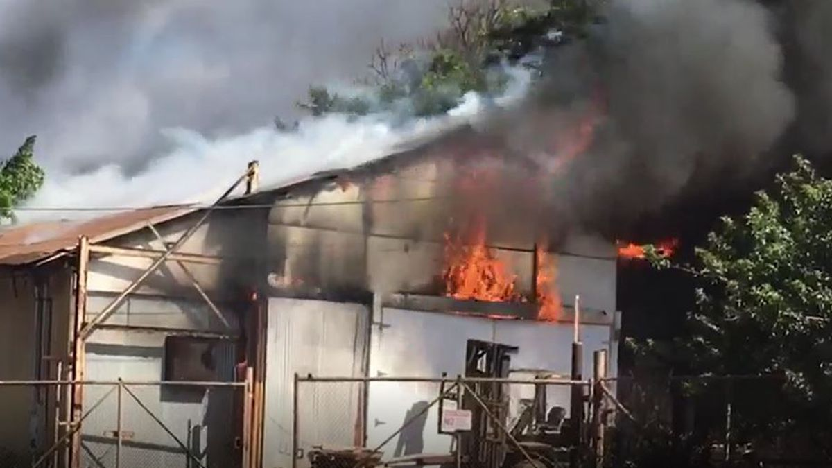 HFD: 3-alarm Waialua Sugar Mill fire causes nearly $1.2M in damage
