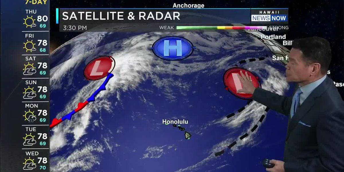 Forecast: Cool, breezy trade winds to close out the week